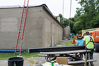 Project No. 158-213: Roof Replacement of the Westport Maintenance Garage in the Town of Westport. Construction Progress Documentation - Submission 5. September 2, 2017 Metal Work, Gutters & Flashing