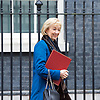 Cabinet Meeting <br /> 10 Downing Street London, Great Britain <br /> 29th March 2017 <br /> <br /> departures following the final cabinet meeting before Article 50 is triggered in Parliament today.<br /> <br /> Andrea Leadsom<br /> Minister of State at the Department of Energy and Climate Change<br /> <br /> Photograph by Elliott Franks <br /> Image licensed to Elliott Franks Photography Services