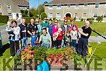 Residents of Brendan's Park Tralee who helped out at the Parks Big Clean Up on Saturday.