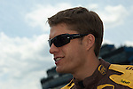 June 14 2009:  Sprint Cup driver David Ragan on the grid at the LifeLock 400 at Michigan International Speedway in Brooklyn, MIchigan.