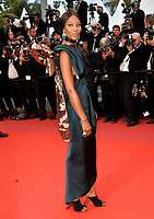 """Naomi Campbell at the gala screening for """"BLACKKKLANSMAN"""" at the 71st Festival de Cannes, Cannes, France 14 May 2018<br /> Picture: Paul Smith/Featureflash/SilverHub 0208 004 5359 sales@silverhubmedia.com"""