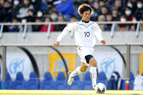 Ryoma Watanabe (Maebashi Ikuei), <br /> JANUARY 12, 2015 - Football / Soccer : <br /> 93rd All Japan High School Soccer Tournament final match between Maebashi Ikuei 2-4 Seiryo at Sitama Stadium 2002, Saitama, Japan. <br /> (Photo by Yusuke Nakanishi/AFLO SPORT) [1090]