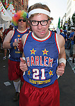 17 June 2006: American fans dressed as the Harlem Globetrotters. Italy played the United States at Fritz-Walter Stadion in Kaiserslautern, Germany in match 25, a Group E first round game, of the 2006 FIFA World Cup.