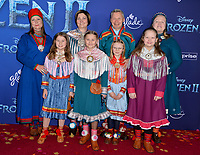 "LOS ANGELES, USA. November 08, 2019: Sami Presidents at the world premiere for Disney's ""Frozen 2"" at the Dolby Theatre.<br /> Picture: Paul Smith/Featureflash"