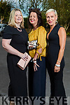 Ann Walsh, Michelle Murray and Fiona Brosnan (Tralee) at the Rose of Tralee fashion show at the dome on Sunday night.