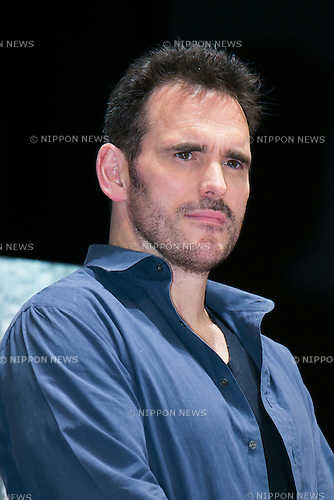 "Actor Matt Dillon attends the talk show of the mystery drama ""Wayward Pines"" at the United Cinemas in Toyosu area on May 21, 2015, Tokyo, Japan. Dillon and Shyamalan are in Japan to promote simultaneous worldwide launch of the mystery drama through the FOX channel. Wayward Pines is an American television series based on the novel Pines by Blake Crouch. (Photo by Rodrigo Reyes Marin/AFLO)"