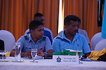 Manager Meeting during the 2014 AFC President's Cup Final Stage Group B match on September 2014 at the Sugathadasa Stadium in Colombo, Sri Lanka. Photo by World Sport Group