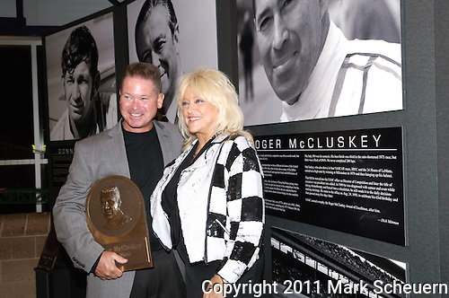 Roger McCluskey Jr. and Linda Vaughn