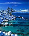 Lake Tahoe Scenic Emerald Waters Winter
