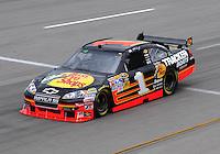 May 1, 2009; Richmond, VA, USA; NASCAR Sprint Cup Series driver Martin Truex Jr during practice for the Russ Friedman 400 at the Richmond International Raceway. Mandatory Credit: Mark J. Rebilas-