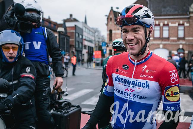 race winner  Fabio Jakobsen (NED/Deceuninck Quick Step)<br /> <br /> GP Monseré 2020<br /> One Day Race: Hooglede – Roeselare 196.8km. (UCI 1.1)<br /> Bingoal Cycling Cup 2020
