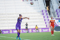 Orlando, FL - Saturday June 24, 2017: Kristen Edmonds during a regular season National Women's Soccer League (NWSL) match between the Orlando Pride and the Houston Dash at Orlando City Stadium.