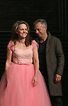 "Sally Field and Joe Mantello during the Broadway Opening Night Performance Curtain Call Bows for ""The Glass Menagerie'"" at the Belasco Theatre on March 9, 2017 in New York City."