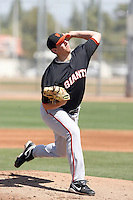 Chris Gloor, San Francisco Giants minor league spring training..Photo by:  Bill Mitchell/Four Seam Images.