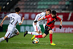 Gyeongnam FC (KOR) vs Kashima Antlers (JPN) during their AFC Champions League 2019 Group Stage Group E match at the Changwon Football Center on 9th April 2019, in Changwon, South Korea. Photo by Victor Fraile / Power Sport Images