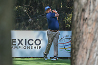Jason Dufner (USA) watches his tee shot on 16 during the preview of the World Golf Championships, Mexico, Club De Golf Chapultepec, Mexico City, Mexico. 2/28/2018.<br /> Picture: Golffile | Ken Murray<br /> <br /> <br /> All photo usage must carry mandatory copyright credit (&copy; Golffile | Ken Murray)