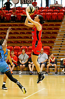 29th December 2019; Bendat Basketball Centre, Perth, Western Australia, Australia; Womens National Basketball League Australia, Perth Lynx versus Canberra Capitals; Katie Ebzery of the Perth Lynx takes a jump shot - Editorial Use