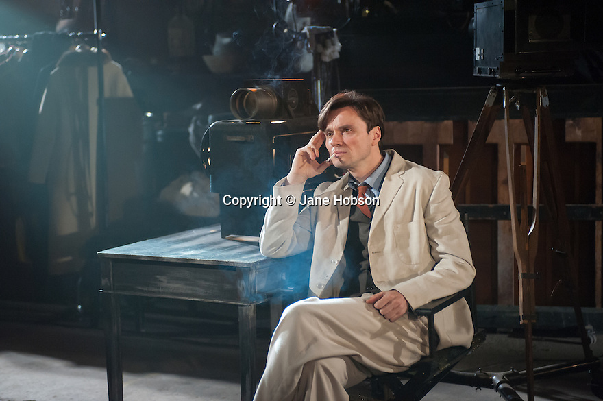 London, UK. 10.07.2012. MACK & MABEL opens at Southwark Playhouse. Picture shows: Norman Bowman (as Mack). Photo credit: Jane Hobson.