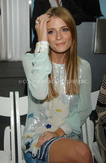 WWW.ACEPIXS.COM . . . . .....NEW YORK CITY, SEPTEMBER 13 2006....'OC' actress Mischa Barton attended the Matthew Williamson Spring 2007 runway show at Olympus Fashion Week in Manhattan.  ....Please byline: Kristin Callahan - ACEPIXS.COM..... *** ***..Ace Pictures, Inc:  ..(212) 243-8787 or (646) 769 0430..e-mail: info@acepixs.com..web: http://www.acepixs.com
