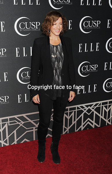 HOLLYWOOD, CA- APRIL 22: Singer Sarah McLachlan arrives at ELLE's 5th Annual Women In Music concert celebration at Avalon on April 22, 2014 in Hollywood, California.<br />