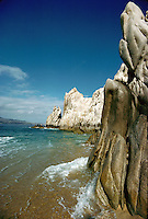 Land's End rock formations at Cabo San Lucas. Baja, Mexico.