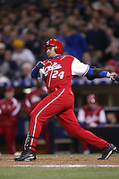 Frederich Cepeda of the Cuban national team during championship game against Japan during the World Baseball Championships at Petco Park in San Diego,California on March 20, 2006. Photo by Larry Goren/Four Seam Images
