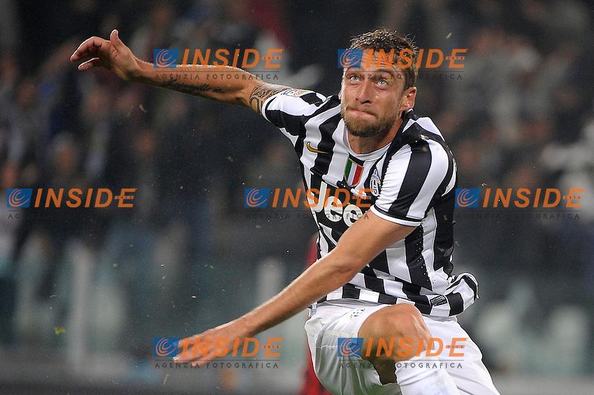 Claudio Marchisio Juventus<br /> Torino 06-10-2013 Juventus Stadium<br /> Football Calcio 2013/2014 Serie A<br /> Juventus - Milan<br /> Foto Federico Tardito Insidefoto
