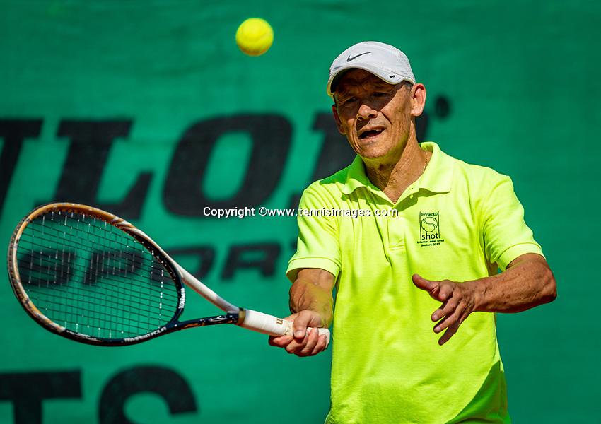 Hilversum, The Netherlands,  August 23, 2019,  Tulip Tennis Center, NSK, Jan Sie (NED)<br /> Photo: Tennisimages/Henk Koster