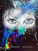 Marie, MODERN, MODERNO, paintings+++++,USJO144,#N# Joan Marie eyes