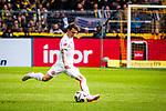 11.05.2019, Signal Iduna Park, Dortmund, GER, 1.FBL, Borussia Dortmund vs Fortuna Düsseldorf, DFL REGULATIONS PROHIBIT ANY USE OF PHOTOGRAPHS AS IMAGE SEQUENCES AND/OR QUASI-VIDEO<br /> <br /> im Bild | picture shows:<br /> Einzelaktion Benito Raman (Fortuna #9), <br /> <br /> Foto © nordphoto / Rauch
