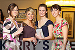 Aine O'Donoghue, Killarney, Aileen Goodman, Firies, Aoife O'Donoghue Killarney and Therese Breen Killarney at Kerry Fashion Weekend at the Brehon Hotel Killarney on Sunday.