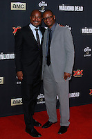 UNIVERSAL CITY, CA, USA - OCTOBER 02: Seth Gilliam, Bob Stookey arrive at the Los Angeles Premiere Of AMC's 'The Walking Dead' Season 5 held at AMC Universal City Walk on October 2, 2014 in Universal City, California, United States. (Photo by David Acosta/Celebrity Monitor)