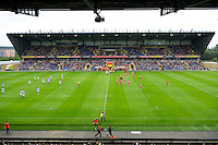 General view of the Kassam Stadium during the Aviva Premiership match between London Welsh and Leicester Tigers on Sunday 2nd September 2012 (Photo by Rob Munro)