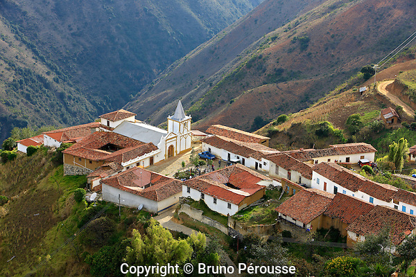 Amérique du Sud; Venezuela; les Andes; région de Mérida; petit village de Los Nevados//South America; Venezuela; the Andes mountains; region of Merida; small mountain village of Los Nevados
