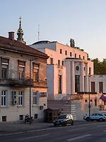 Franz&ouml;sische Botschaft auf der Pariska, Belgrad, Serbien, Europa<br /> French embassy at the Parizka,  Belgrade, Serbia, Europe