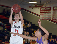 RICK PECK/SPECIAL TO MCDONALD COUNTY PRESS<br /> McDonald County's Koby McAlister grabs a rebound in the Mustang's 78-67 loss to Monett on Jan. 8 at MCHS.