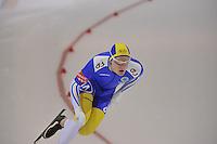 SCHAATSEN: SALT LAKE CITY: Utah Olympic Oval, 16-11-2013, Essent ISU World Cup, 1000m, David Andersson (SWE), ©foto Martin de Jong