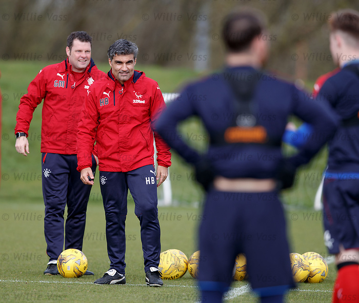 Graeme Murty and Helder Batista