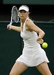 Mcc0032212 . Daily Telegraph..Maria Sharapova vs Dominika Cibulkova on Centre Court...The eighth day of The Lawn Tennis Championships at Wimbledon..London 28 June 2011