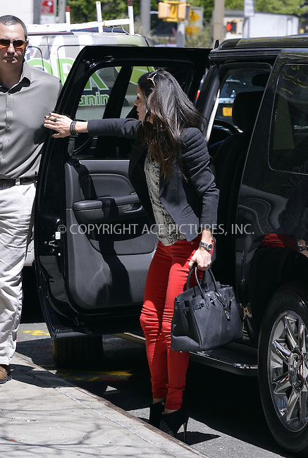 WWW.ACEPIXS.COM....April 26 2013, New York City....Bethenny Frankel walks in Tribeca on April 26 2013 in New York City......By Line: Curtis Means/ACE Pictures......ACE Pictures, Inc...tel: 646 769 0430..Email: info@acepixs.com..www.acepixs.com