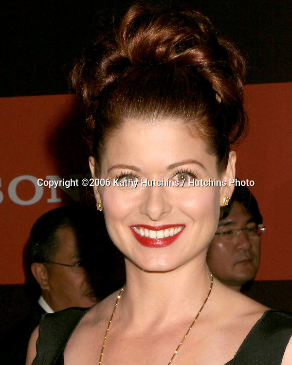 Debra Messing .Sony Corporate Party.Rodeo Drive.Beverly Hills , CA.September  30, 2006.©2006 Kathy Hutchins / Hutchins Photo....