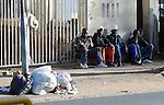FUDBAL, JOHANEZBURG, 08. Jun. 2010. - Gradjani  Johanezburga. U Juznoj Africi se od 11. juna do 11. jula odigrava Svetsko prvenstvo u fudbalu. Foto: Nenad Negovanovic