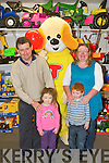 PARTY: Enjoying the at the Easter party at Caball's Toymaster, Tralee on Saturday l-r: Thomas, Hannah, Mary and Michael Devane, Lispole...