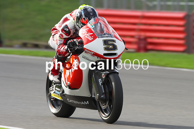 hertz british grand prix during the world championship 2014.<br /> Silverstone, england<br /> August 31, 2014. <br /> Race Moto2<br /> Johann zarco<br /> PHOTOCALL3000/ RME