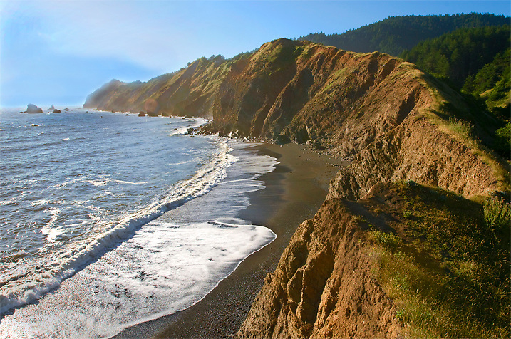 Bear Harbor is one of the best spots on the Lost Coast trail. If you're in the area, I'd recommend camping here.
