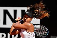 Naomi Osaka of Japan in action during the match won against Dominika Cibulkova of Slovakia  <br /> Roma 16/05/2019 Foro Italico  <br /> Internazionali BNL D'Italia Italian Open <br /> Photo Andrea Staccioli / Insidefoto