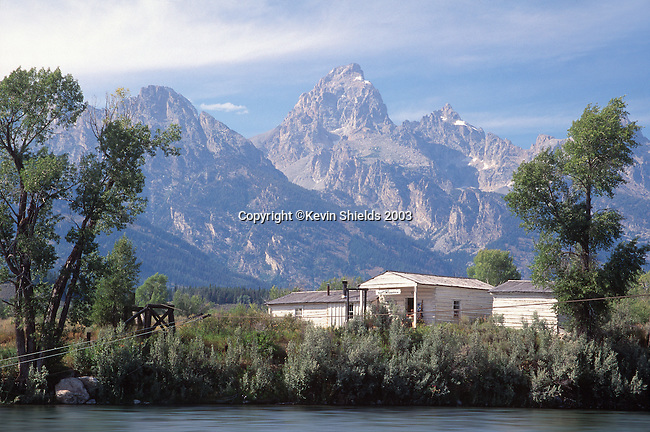 Menor's Ferry Historic Area, Grand Teton National Park, Wyoming, USA