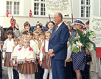 King Harald, and Queen Sonja of Norway, State Visit to Latvia, Visit to Riga Cathedral.