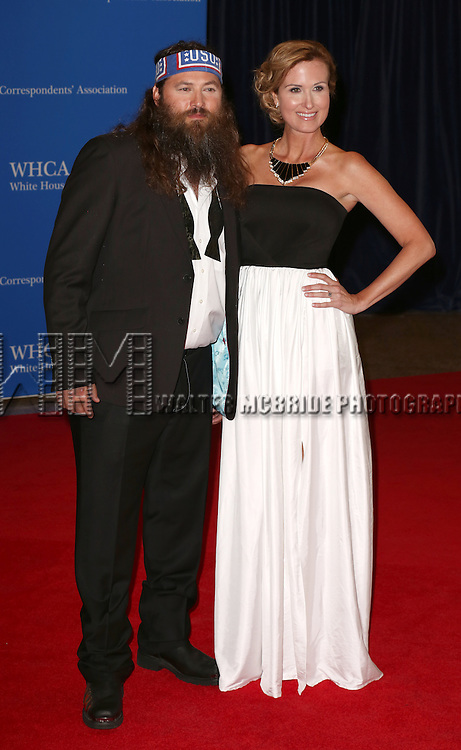 Description/Caption:<br /> Willie Robertson and Korie Robertson attends the 100th Annual White House Correspondents' Association Dinner at the Washington Hilton on May 3, 2014 in Washington, D.C.