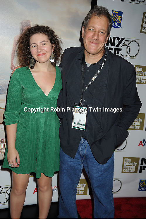 """Jeff Kaufman  and daughter Anna attends the 50th Annual New York Film Festival Opening Night Gala presentation of """"Life of Pi"""" starring Suraj Sharma and directored by Ang Lee on September 28, 2012 in New York City. The screening was at Alice Tully Hall at Lincoln Center."""
